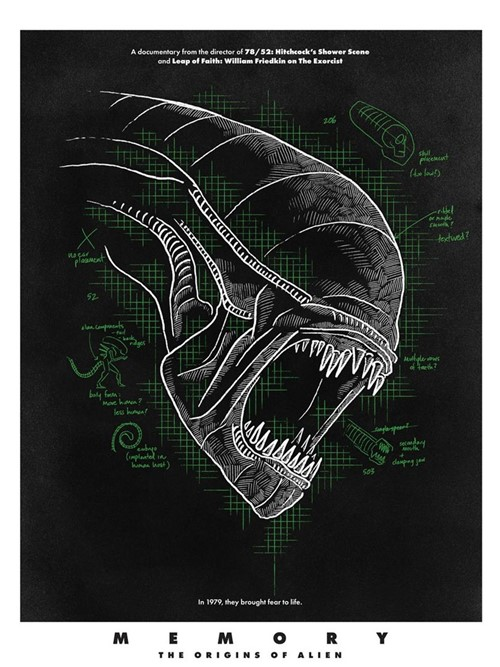 Memory the origins of Alien film documentaire affiche