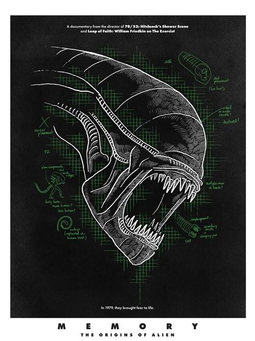 Memory the origins of Alien film documentaire affiche