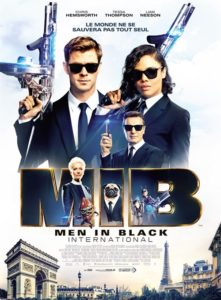 Men in black international film affiche