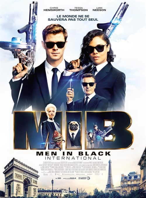 Men in black international film affiche