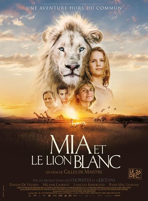 Mia et le lion blanc film affiche