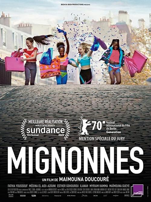 Mignonnes film affiche