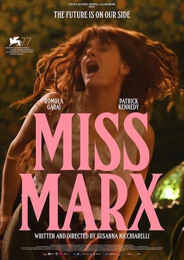 Miss Marx film biopic affiche