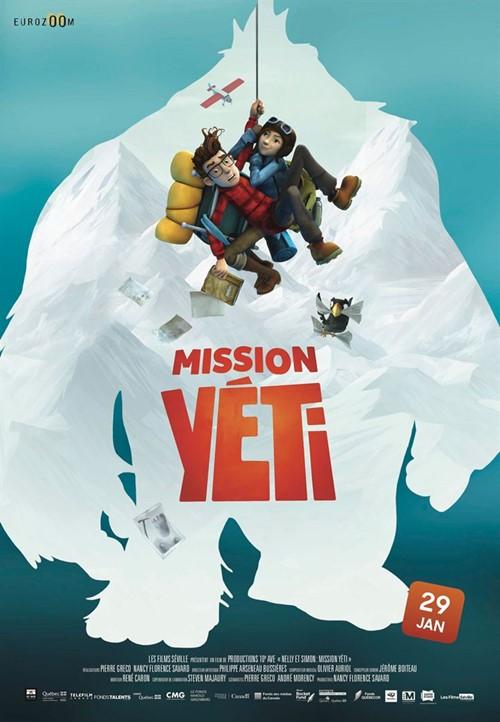 Mission Yéti film affiche