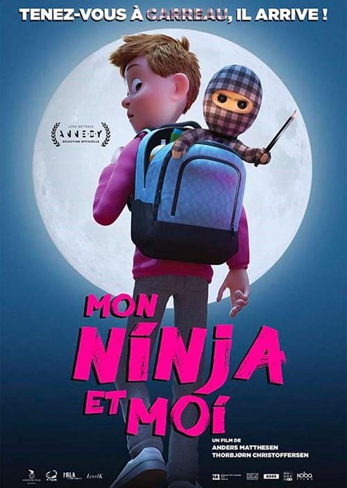 Mon Ninja et moi film animation affiche définitive