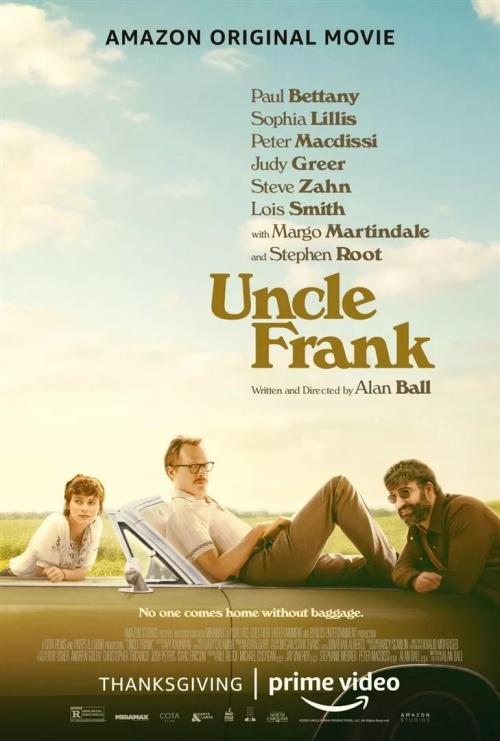 Mon Oncle Frank film affiche réalisé par Alan Ball