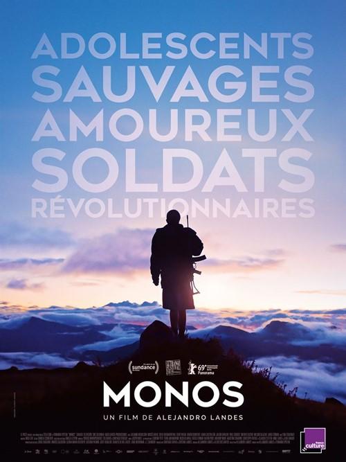 Monos film affiche définitive