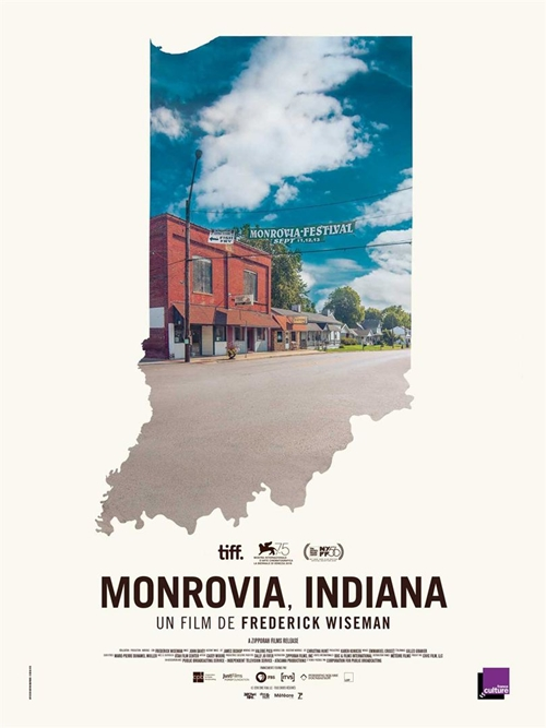 Monrovia, Indiana film documentaire affiche