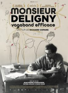 Monsieur Deligny, vagabond efficace film documentaire affiche