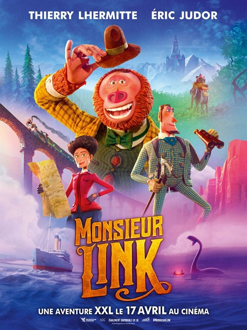 Monsieur Link film animation affiche