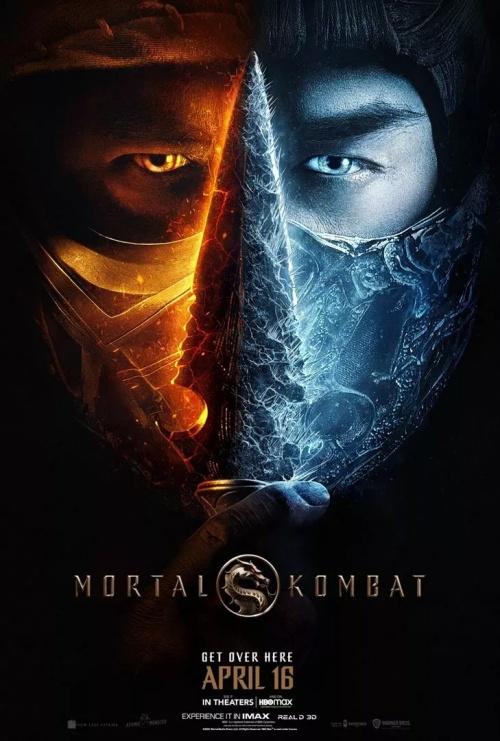 Mortal Kombat film affiche réalisé par Simon McQuoid