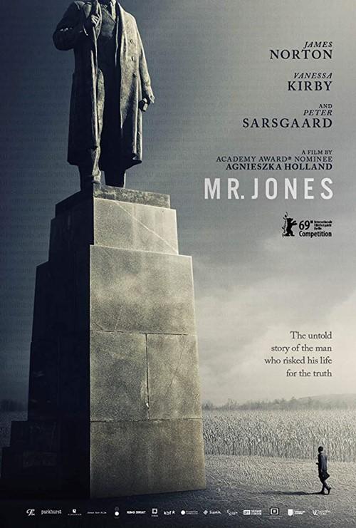 Mr Jones 2019 film affiche