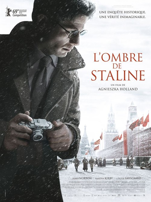 Mr Jones L'ombre de Staline film affiche definitive