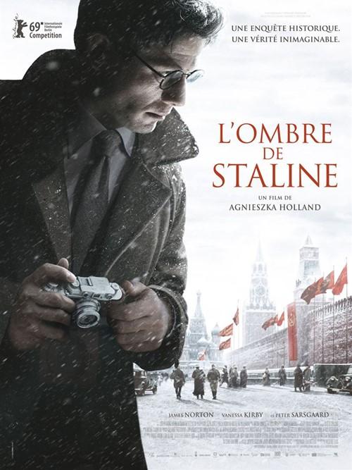 Mr Jones L'ombre de Staline film affiche definitive