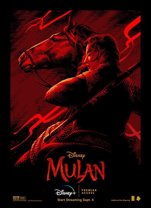 Mulan film affiche