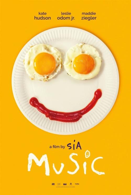 Music film affiche réalisé par Sia