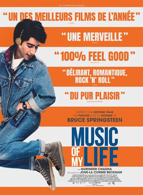 Music of my life film affiche