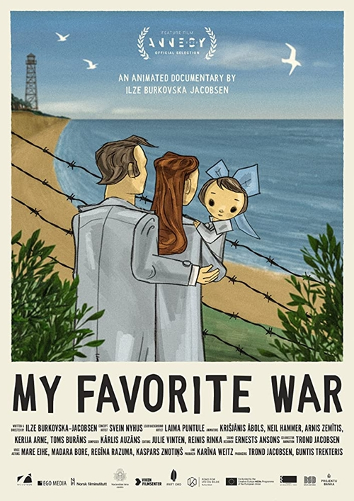 My Favorite War film animation affiche
