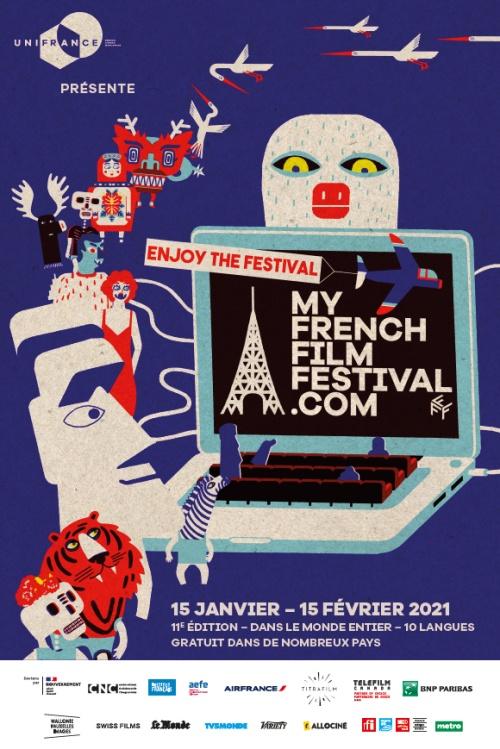 Actualité My French Film Festival 2021 affiche