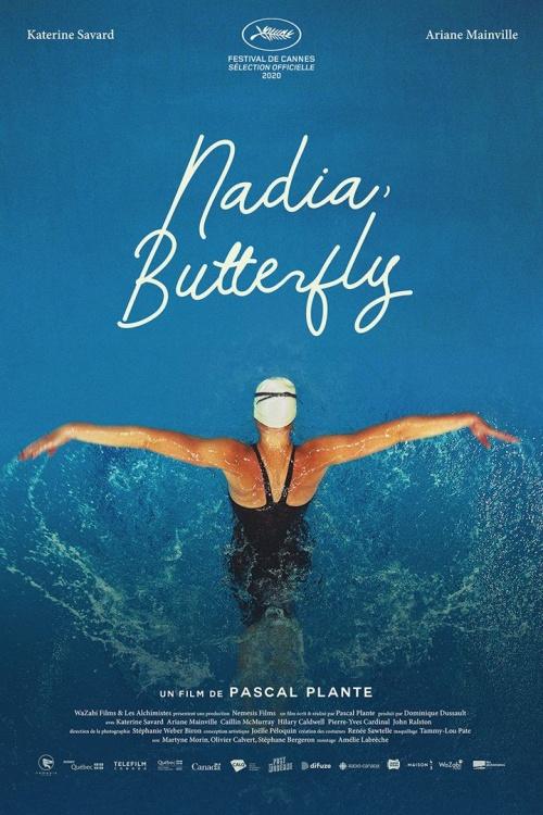 Nadia Butterfly film affiche réalisé par Pascal Plante