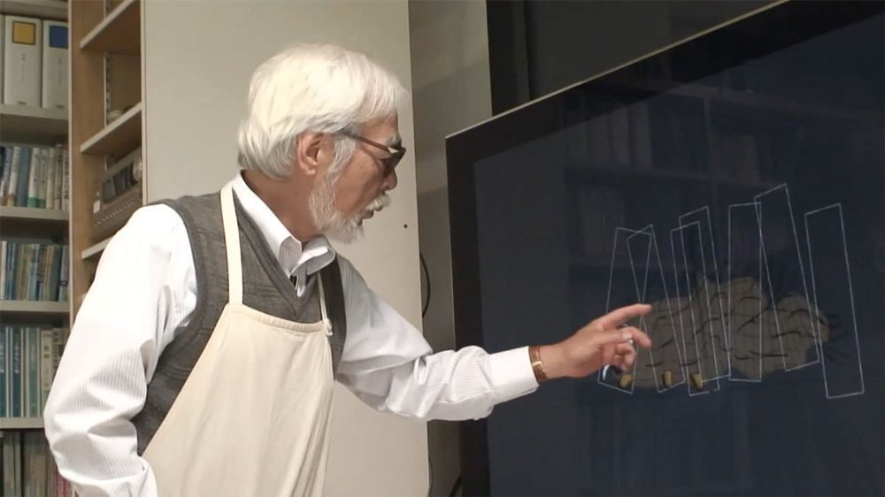 Never ending man Hayao Miyazaki film image