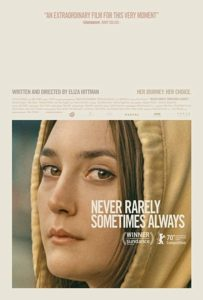 Never rarely sometimes always film affiche