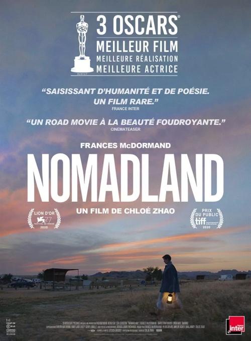 Nomadland film affiche réalisé par Chloé Zhao