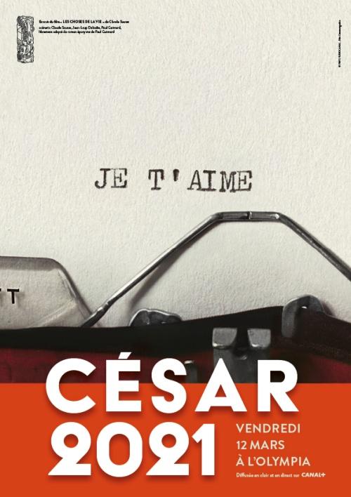 Nominations aux César 2021 affiche
