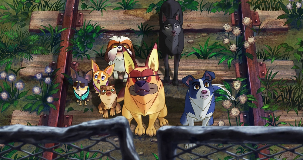 Nous les chiens film animation image