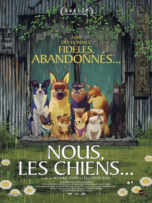 Nous les chiens film animation affiche