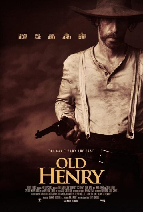Old Henry film affiche provisoire réalisé par Potsy Ponciroli