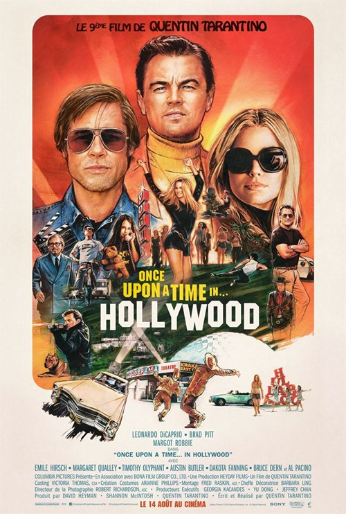 Once Upon a time in... Hollywood film affiche