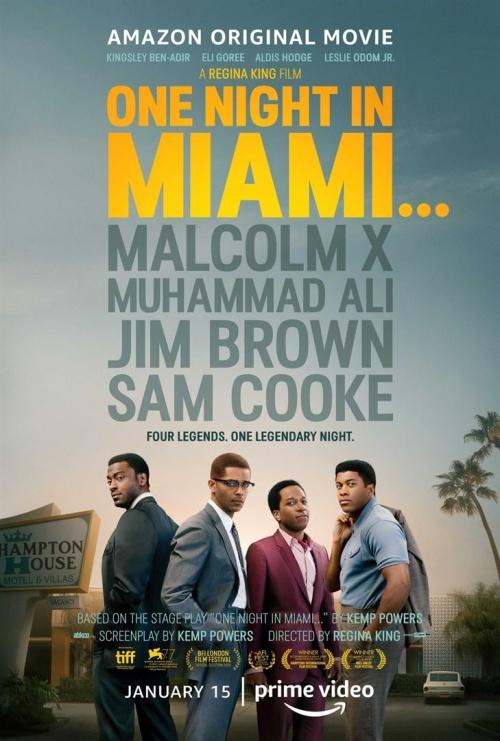 One Night in Miami film affiche