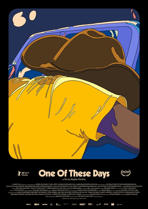 One of these days film affiche