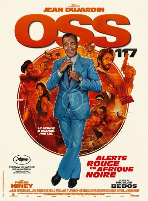 OSS 117 3 : Alerte rouge en Afrique noire film affiche réalisé par Nicolas Bedos