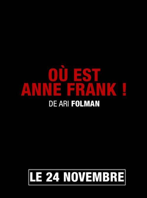 Où est Anne Frank affiche