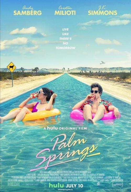 Palm Springs film affiche réalisé par Max Barbakow
