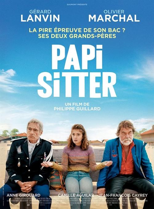Papi Sitter film affiche