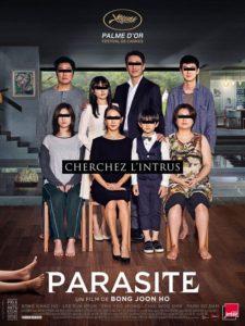 Parasite film affiche