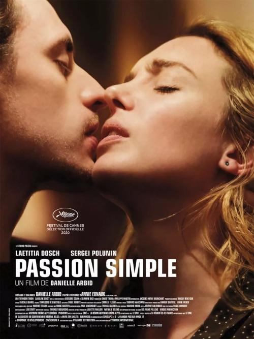 Passion Simple film affiche réalisé par Danielle Arbid