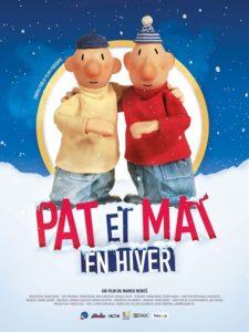 Pat et Mat en hiver film animation affiche