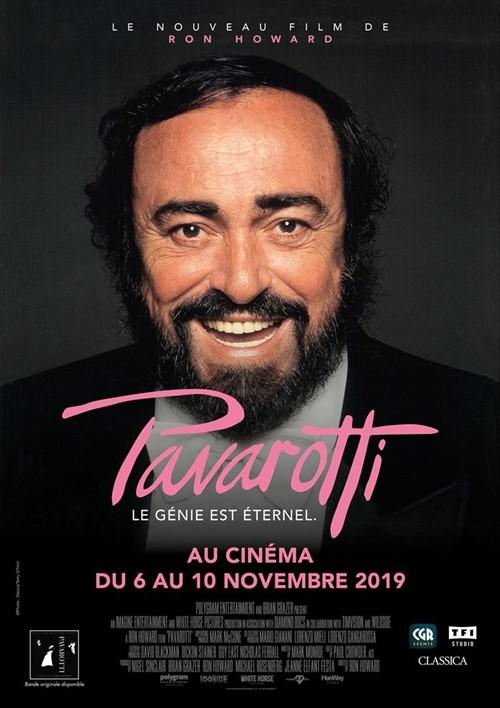Pavarotti film documentaire affiche