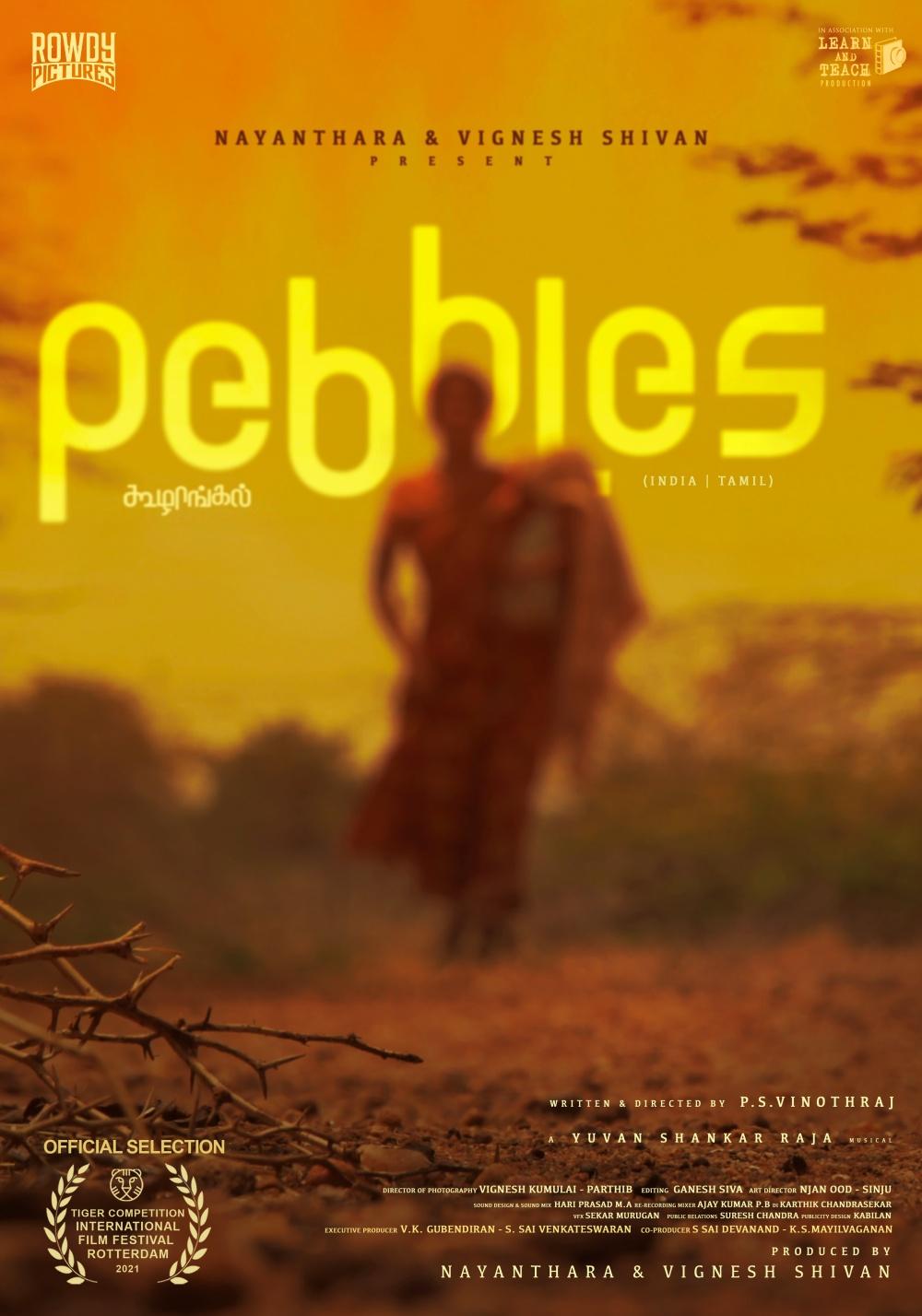 Pebbles film affiche réalisé par P.S. Vinothraj
