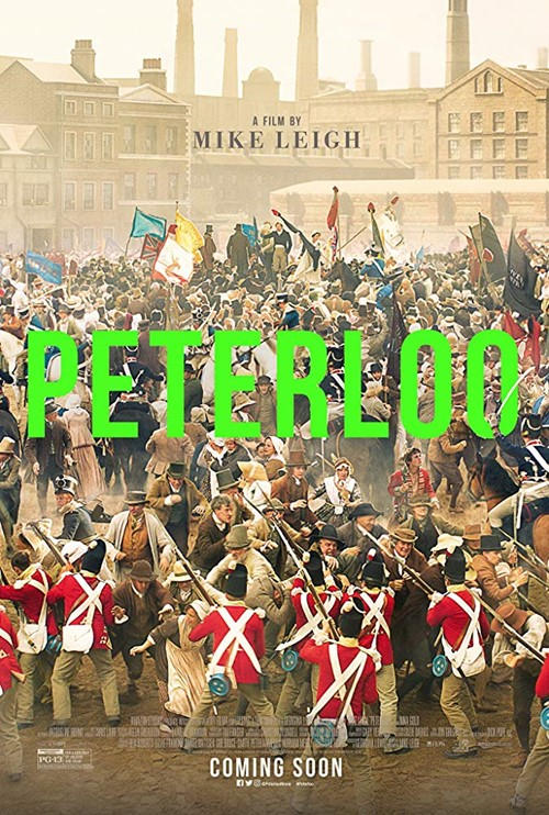 Peterloo film affiche