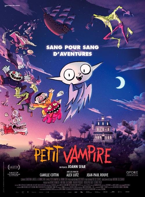 Petit Vampire film animation affiche
