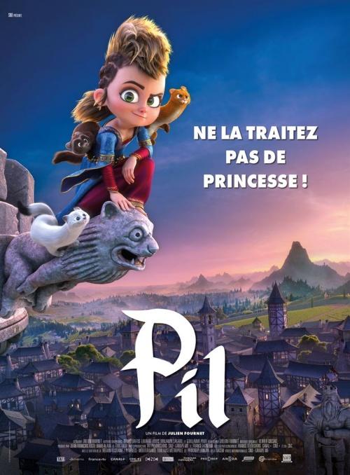 Pil film animation affiche réalisé par Julien Fournet