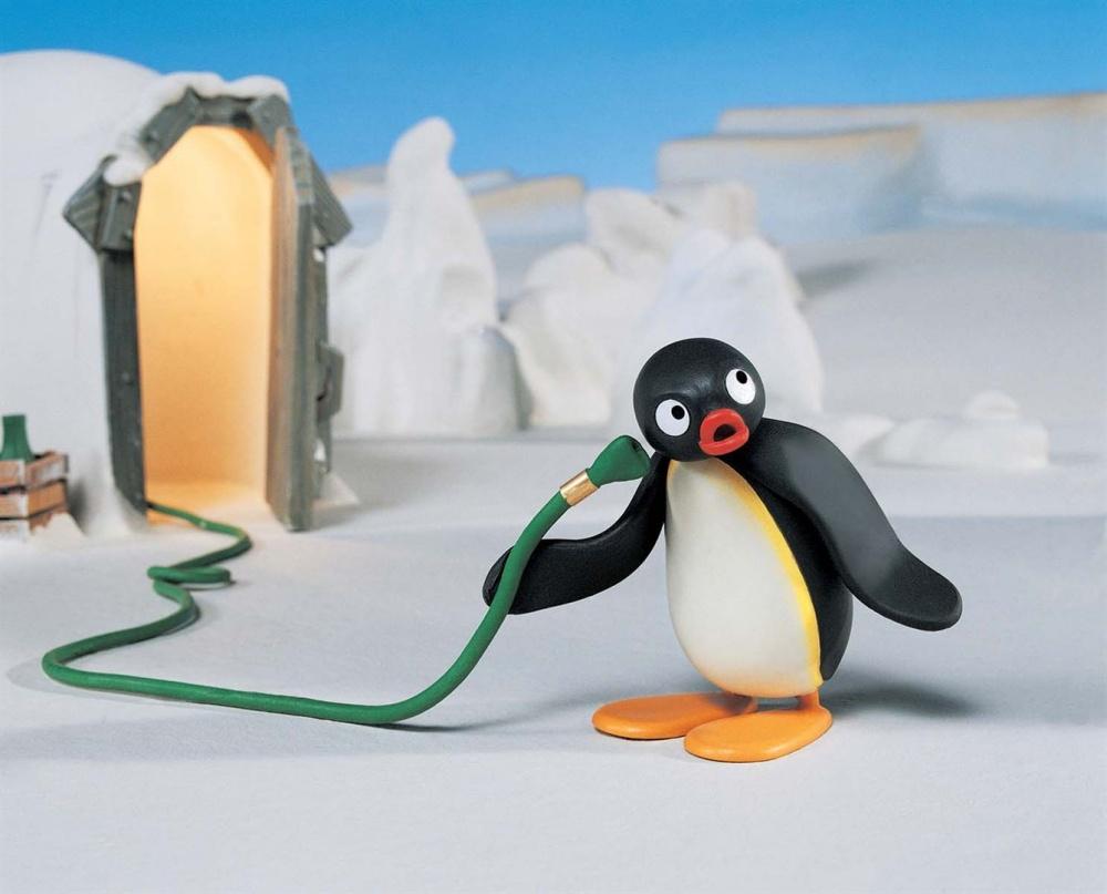 Pingu film animation animated movie