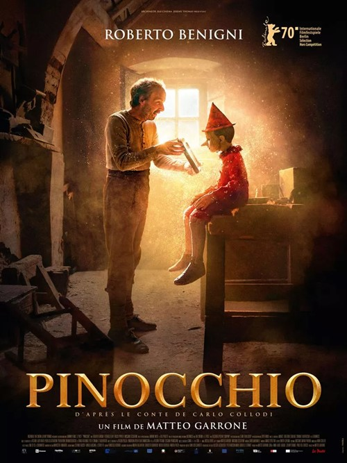 Pinocchio Matteo Garrone film affiche