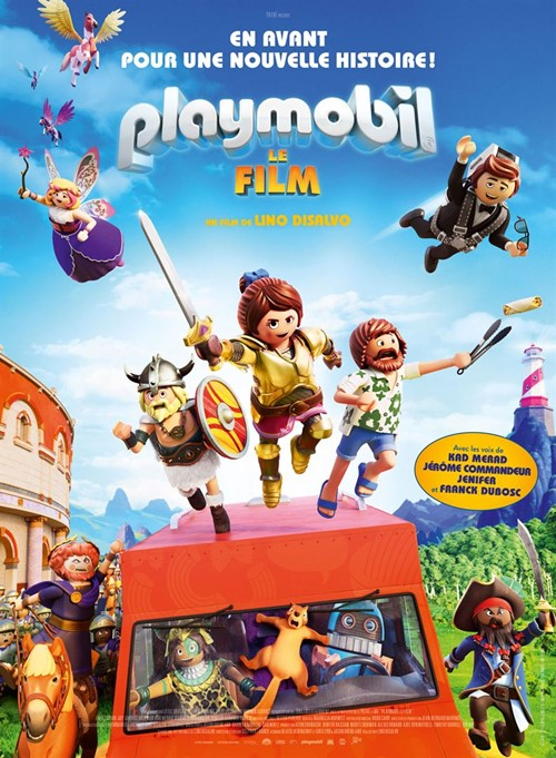 Playmobil, le film affiche
