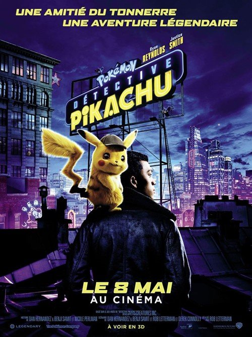 Pokemon Detective Pikachu film affiche
